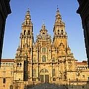 Spain. Santiago De Compostela Art Print