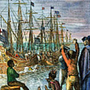 The Boston Tea Party, 1773 Print by Granger