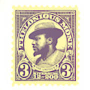 Thelonious Monk -  The Unique Thelonious Monk Art Print