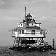 Thomas Point Shoal Lighthouse Art Print