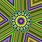 6 Triangle Design Art Print