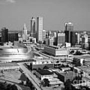 Tulsa Oklahoma Skyline Art Print