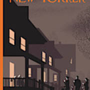New Yorker November 2nd, 2009 Art Print