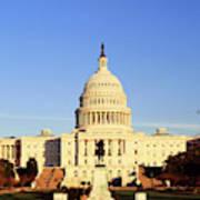 Usa, Washington Dc, Capitol Building Art Print