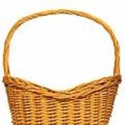 Wicker Basket Number Seven Art Print