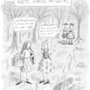 New Yorker April 16th, 2007 Art Print
