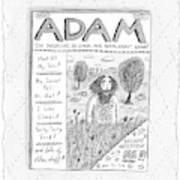 New Yorker April 23rd, 2007 Art Print
