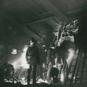 64 Killed In Lewis Ham Rail Disaster Art Print
