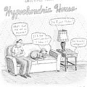 New Yorker December 24th, 2007 Art Print