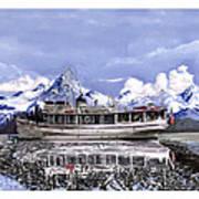 Alaska Yachting Art Print