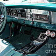 65 Plymouth Satellite Interior-8499 Art Print
