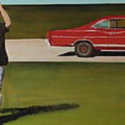 67 Ford Galaxie Art Print