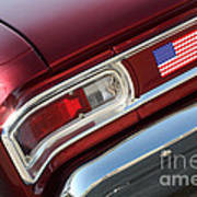 67 Malibu Chevelle Tail Light-0060 Art Print