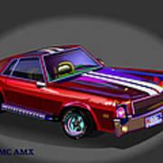 69 Amc Amx Art Print