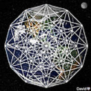 6d Earth Art Print