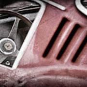 1966 Ferrari 275 Gtb Steering Wheel Emblem Art Print by Jill Reger