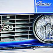 1969 Chevrolet Camaro Z-28 Grille Emblem Art Print