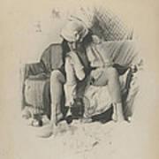 Brothel Scene  Art Print