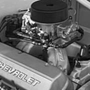 Chevrolet Engine Art Print