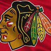 Chicago Blackhawks Uniform Art Print