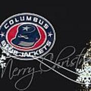 Columbus Blue Jackets Art Print