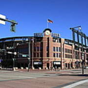 Coors Field - Colorado Rockies Art Print