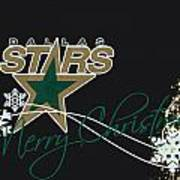 Dallas Stars Art Print
