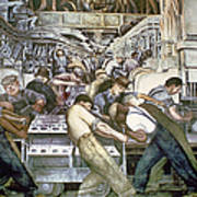Diego Rivera - Detroit Art Print