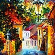 Evening Art Print by Leonid Afremov