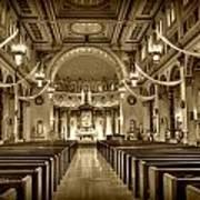 Holy Cross Catholic Church Art Print