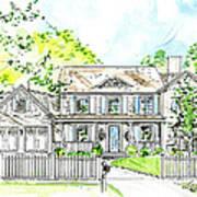 House Rendering Art Print