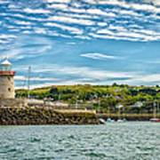 Howth Harbour Art Print