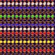 Infinity Infinite Symbol Elegant Art And Patterns Art Print