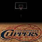 Los Angeles Clippers Art Print