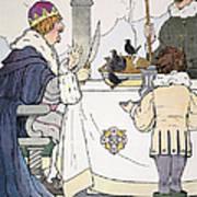 Mother Goose, 1916 Art Print