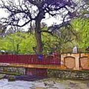 Near Entrance To Hindu Temple Of Mattan Art Print