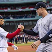 New York Yankees v Boston Red Sox Art Print