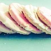 Pink Cookies Art Print