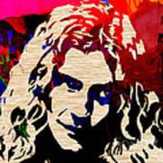 Robert Plant Print by Marvin Blaine