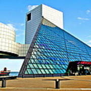 Rock and Roll Hall of Fame Art Print
