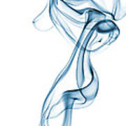 Smoke Curve Art Print