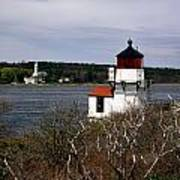 Squirrel Point Lighthouse Art Print