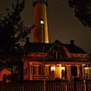 St Simons Island Lighthouse 2 Art Print