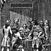 Treaty Of Paris, 1783 Art Print