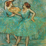 Two Dancers Art Print