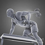 Exercise Workout Art Print