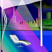 717 - Strange Relaxation Art Print