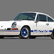 '73 Porsche 911 Carrera 2.7 Rs Art Print