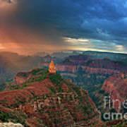 749220321 North Rim Grand Canyon Arizona Art Print