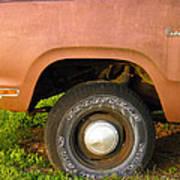 78 Dodge Power Wagon  Art Print